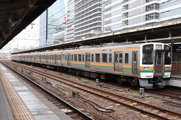 中央本線 211系5000番台K16編成