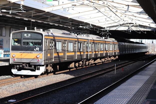 武蔵野線 205系5000番台ケヨM21編成 後追い