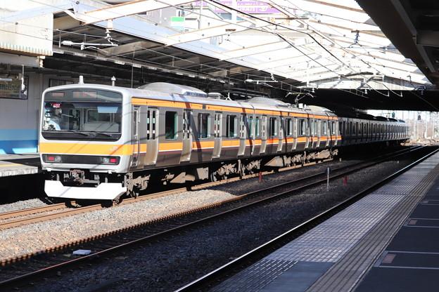 武蔵野線 E231系ケヨMU37編成 後追い
