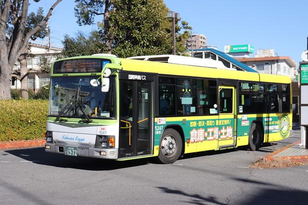 国際興業バス 5247号車