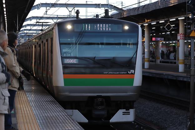 宇都宮線 E233系3000番台E-04編成