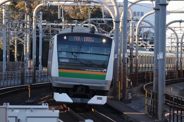 高崎線 E233系3000番台E-01編成 (1)
