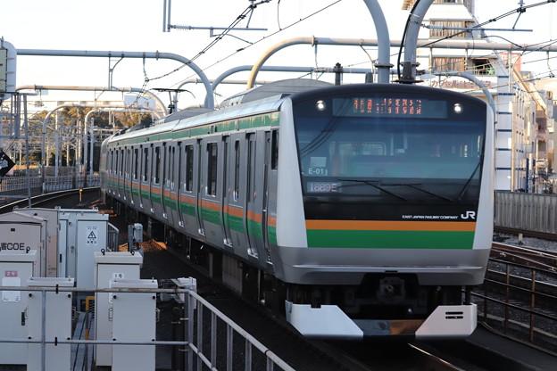 高崎線 E233系3000番台E-01編成 (2)
