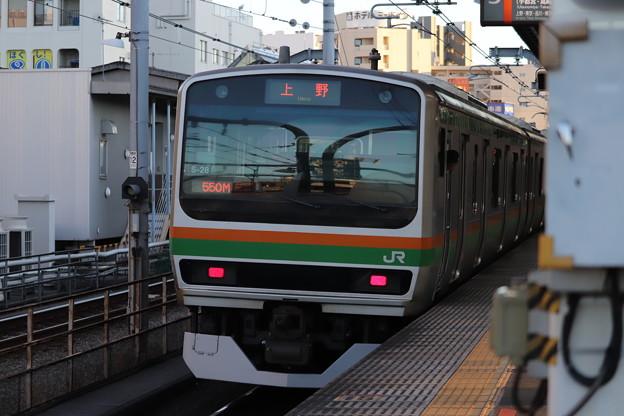 宇都宮線 E233系1000番台S-28編成