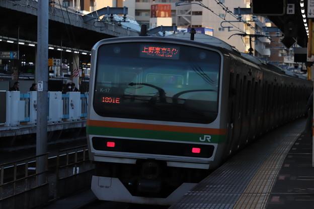 高崎線 E231系1000番台K-17編成