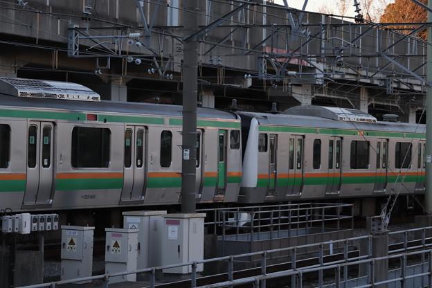 湘南新宿ライン E231系1000番台+E233系3000番台