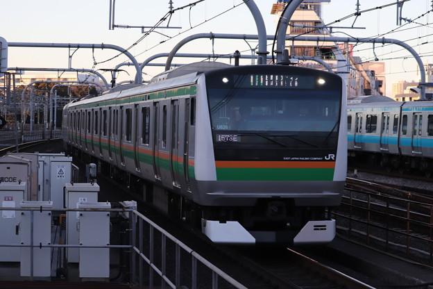 宇都宮線 E233系3000番台U626編成 (1)