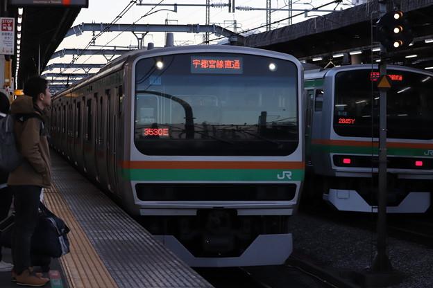 宇都宮線 E231系1000番台U111編成