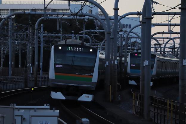 宇都宮線 E233系3000番台U628編成