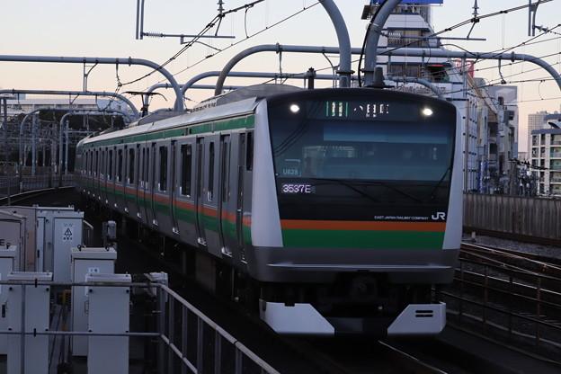 宇都宮線 E233系3000番台U628編成 (1)