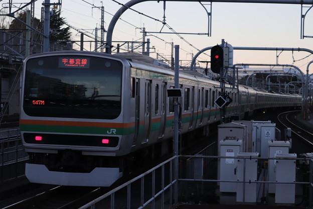 宇都宮線 E231系1000番台U524編成