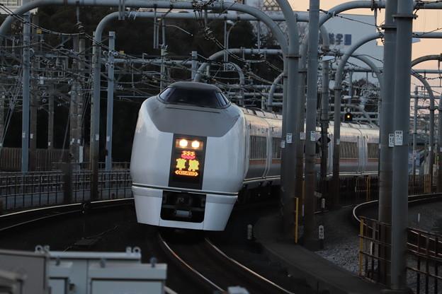 高崎線 651系1000番台 草津 (1)