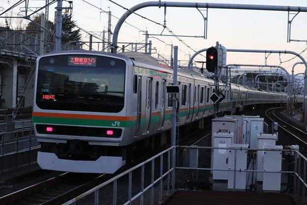 高崎線 E231系1000番台U514編成