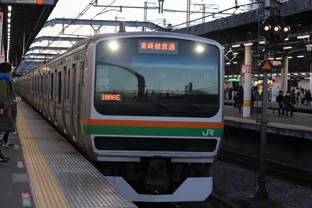 高崎線 E231系1000番台S-07編成