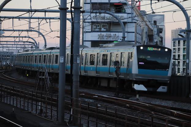 京浜東北線 E233系1000番台サイ124編成