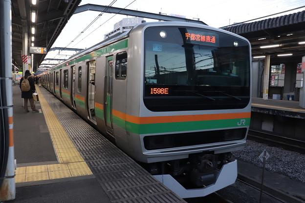 宇都宮線 E231系1000番台U53編成 (1)