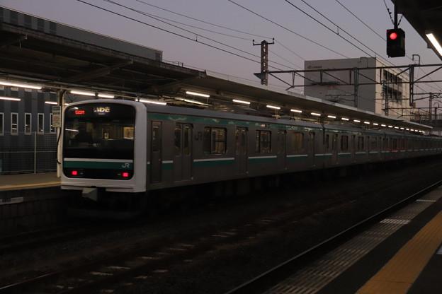 常磐線 E501系