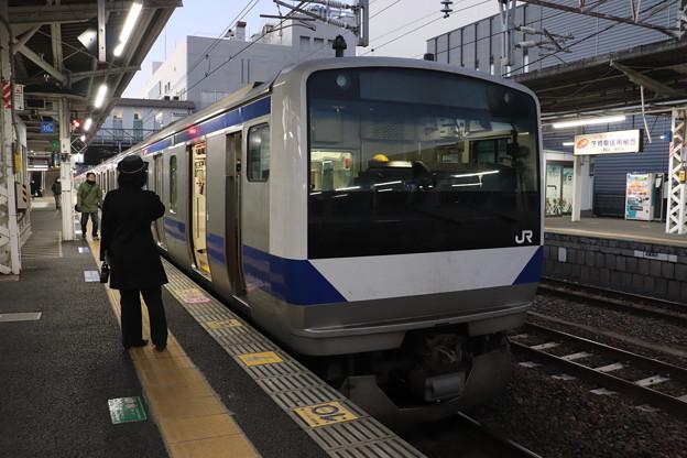 常磐線 E531系K407編成 330M 普通 上野 行 2019.12.28