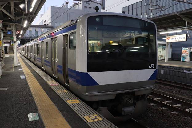 常磐線 E531系K407編成 330M 普通 上野 行 2019.12.28 (1)