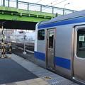 常磐線 上野駅10番線に停車中のE531系