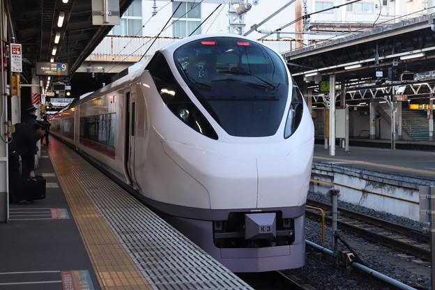 上野東京ライン E657系K3編成 58M 特急ときわ58号 品川 行 2019.12.28 (1)