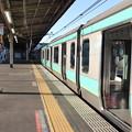 常磐線 上野駅11番線に停車中のE231系