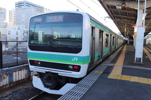常磐快速線 E231系マト124編成