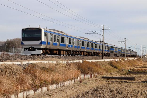 常磐線 E531系K419編成 1166M 普通 品川 行 2020.01.12