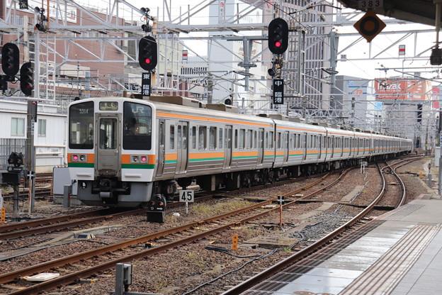 中央本線 211系5000番台K19編成