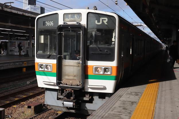 中央本線 211系5000番台K11編成