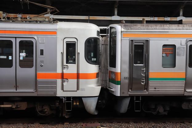 313系と211系の併結