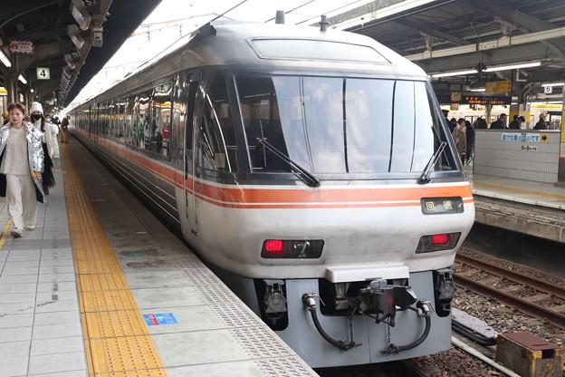 東海道本線 特急ワイドビューひだ10号 終点名古屋到着