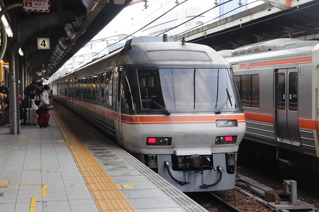東海道本線 特急ワイドビューひだ10号 終点名古屋到着後 回送 (1)
