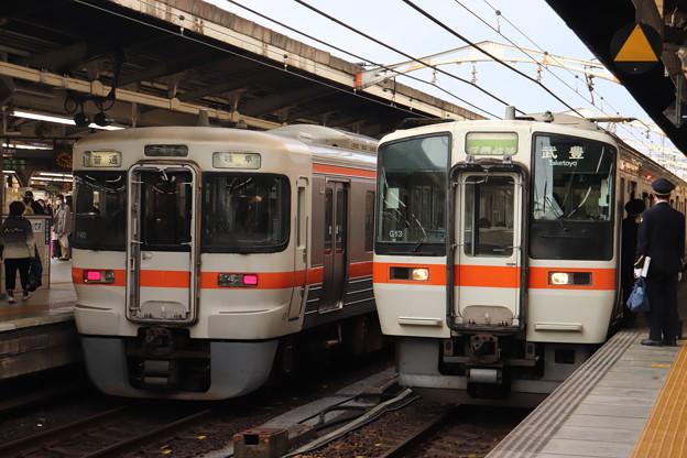 東海道本線 313系Y40編成・311系G13編成