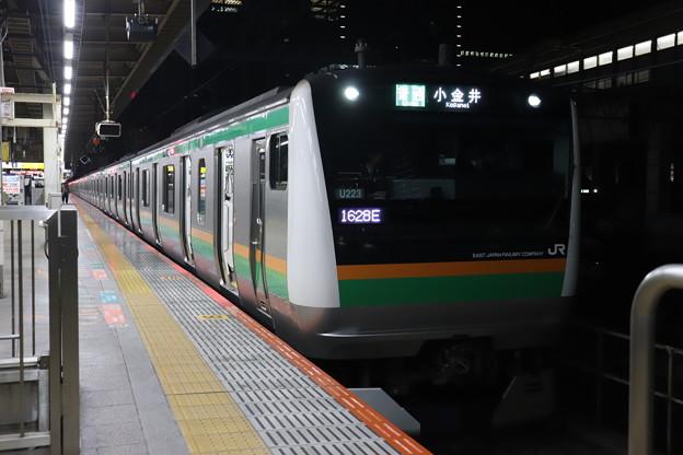 上野東京ライン E233系3000番台U223編成