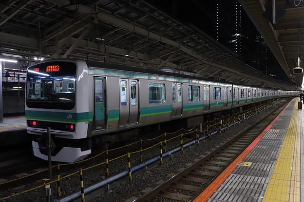 上野東京ライン E231系マト124編成