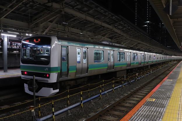 上野東京ライン E231系マト124編成 (1)