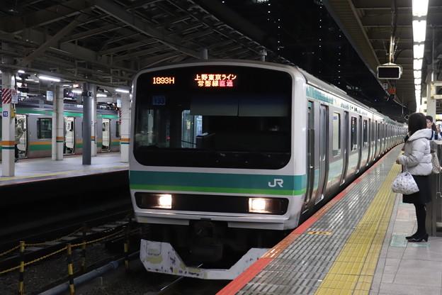 上野東京ライン E231系マト133編成