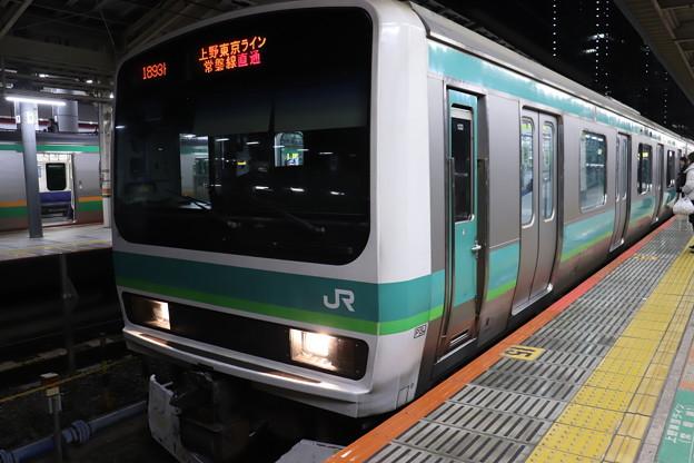 上野東京ライン E231系マト133編成 (1)