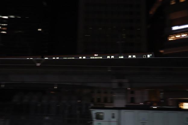 中央線 E233系 流し撮り