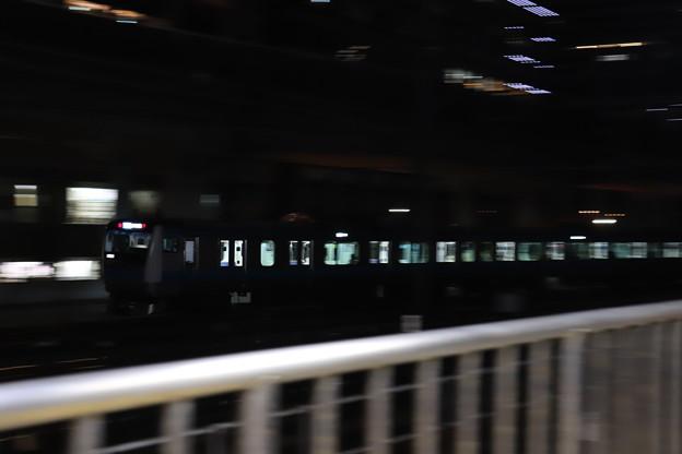 京浜東北線 E233系1000番台 流し撮り