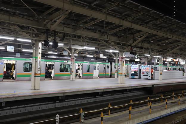 上野東京ライン 東京駅 光景