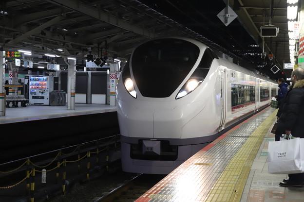 上野東京ライン E657系K3編成 特急ときわ75号 高萩 行