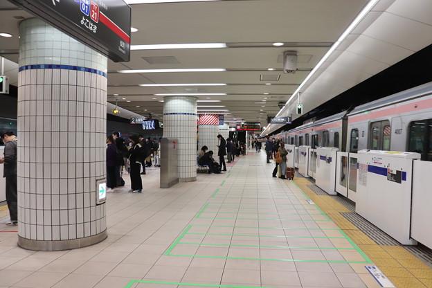 東急東横線・みなとみらい線 横浜駅 ホーム