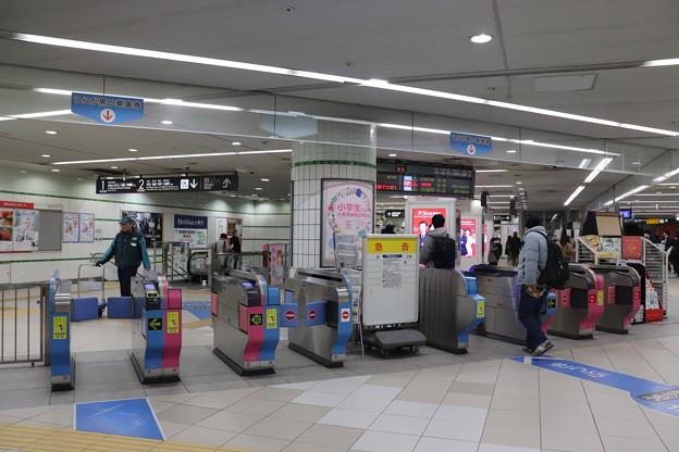 東急東横線・みなとみらい線 横浜駅 改札口