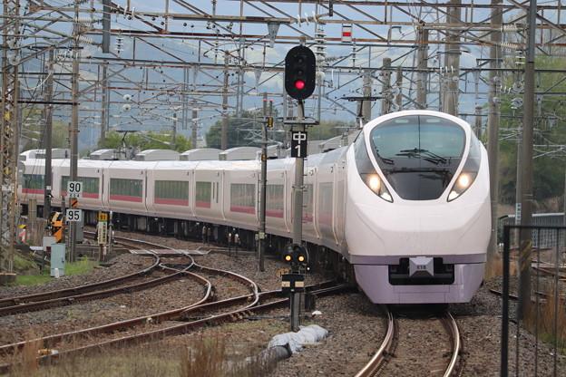 常磐線 E657系K18編成 67M 特急ときわ67号 勝田 行 2020.04.21