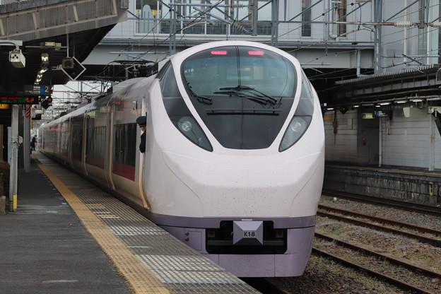 Photos: 常磐線 E657系K18編成 67M 特急ときわ67号 勝田 行 後追い 2020.04.21