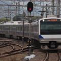 Photos: 常磐線 E531系K419編成 391M 普通 水戸 行 2020.04.21