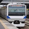 Photos: 常磐線 E531系K419編成 391M 普通 水戸 行 後追い 2020.04.21