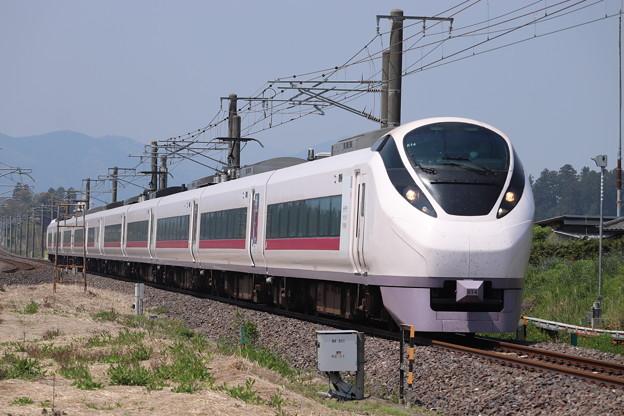 常磐線 E657系K14編成 「つながる常磐線」ラッピング 5M 特急ひたち5号 いわき 行 2020.05.02 (1)